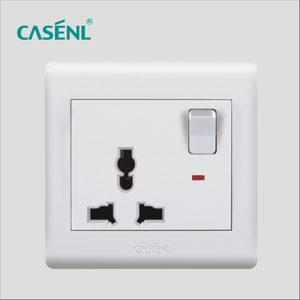 Universal Switch Socket with Light